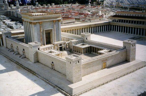 Modell des Jerusalemer Tempels / Foto: Juan R. Cuadra/Wikipedia