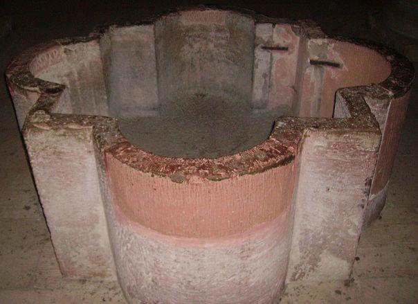 Taufbecken in der Krypta des Speyrer Doms * Foto: Immanuel Giel via Wikimedia Commons