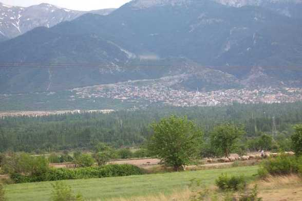 Der heutige Ort Honaz in der Westtürkei nahe der ehemaligen Stadt Kolossä / Foto: Wikipedia, User: Blaberus