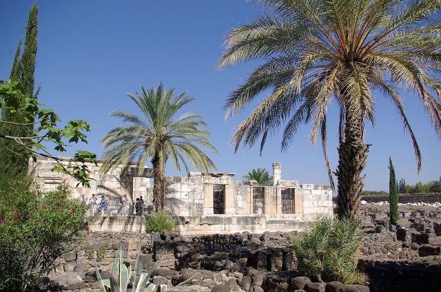 Synagoge in Kafarnaum * Foto: Berthold Werner via Wikimedia Commons